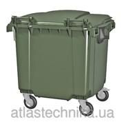 Мусорный контейнер для тбо объемом 1100 л фото