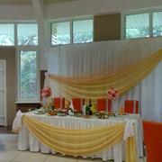 Декоративное оформление свадеб фото