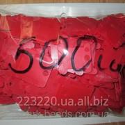 Шпули пластиковые для мулине (500 шт) красные фото