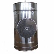 Ревизия из нержавеющей стали: 0,8 мм, диаметр (ф150) фото