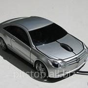 Мышка компьютерная проводная Mercedes Benz CLK серебристая mouse-mbclk-silver фото