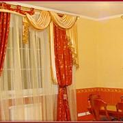 Пошив и навеска штор, монтаж карнизов, жалюзи фото