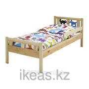 Каркас кровати с реечным дном, сосна КРИТТЕР фото