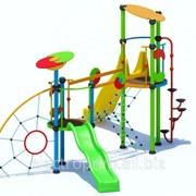 Комплексное детское сооружение модель КМ09 фото
