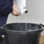 Промывка системы отопления гидропневматическая фото