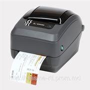 Термотрансферный принтер Zebra GX 430 T фото