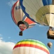 РЕКЛАМА и РАБОТА воздушного шара в привязном РЕЖИМЕ в рекламных целях фото