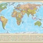 Новая настенная политическая карта мира фото
