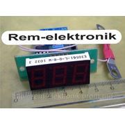 Цифровой амперметр постоянного тока АПТ-056/3 фото