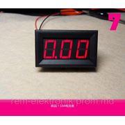 Цифровой амперметр 0-10А фото