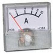 Амперметр панельный 91C16 (стрелочный, 10A) фото