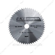Диск циркулярный по дереву КТ PROFESSIONAL 230x22, 2мм 72 зуба без напайки №299357 фото