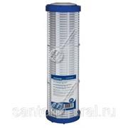 "Картридж-сетка многоразовая 100 микрон для колб 10"" со спускным краном AquaFilter фото"