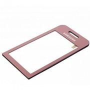 Тачскрин (сенсорное стекло) для Samsung S5230/S5233 pink фото