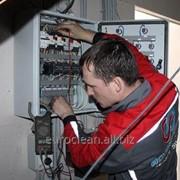 Обслуживание электросетей электроснабжения и электроосвещения фото