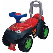 Каталка-толокар M 0532-2 (1шт) детская машина, сигнал, в кор-ке, 60-27-22см красная фото