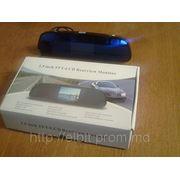 Видео Паркторник Зеркало LСD камера + 4 датчика EL-YC217C-R35-4 + голосовой интерфейс фото