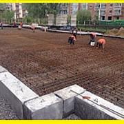Строительство фундамента плита в Краснодаре фото