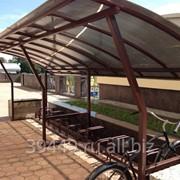 Велопарковка, велостоянка фото
