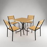 Мебль для летнего кафе фото
