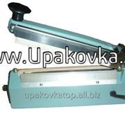 Настольный запайщик пакетов с боковым ножом FS-200-С импульсного нагрева фото