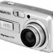 """DCamera Samsung A55WGR, 5Mpix, Zoom 4.8/5, scr.2,5"""", RAM 32MB, slot SD/MMC, MPEG-4 фото"""