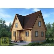 Дом из бруса Проект №37 (6х8) фото