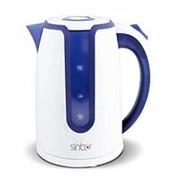 Чайник Sinbo SK-7323 белый/синий фото