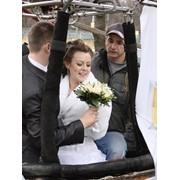 Свадьба на воздушном шаре фото