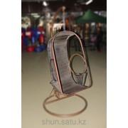Подвесные качели из ротанга, код: D002 фото