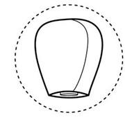 Летающие небесные фонарики: купол фото