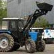 Трактор Беларус с КУНом фото