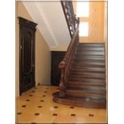 Деревянные шпонированные лестницы, Лестницы фото