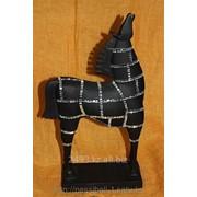 Сувенир Конь мозаика фото