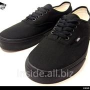 Кеды Vans Era Classic All Black фото