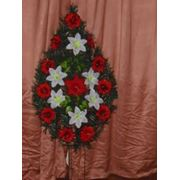Венок похоронный/размер: 110-40 фото