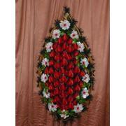 Венок похоронный/размер: 160-65 фото