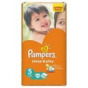 Подгузники Pampers Sleep & Play 5 (11-18 кг), 58 шт фото