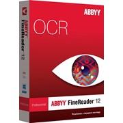 ABBYY FineReader 12 Professional (коробка) New Программа для распознавания текста фото
