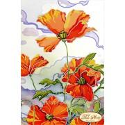 """Рисунок на ткани для вышивания бисером """"Батик"""" ТА-021 фото"""