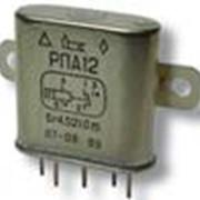 Реле электромагнитное слаботочное РПА 12 фото