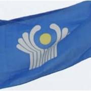 Флаг 1*2м СНГ фото