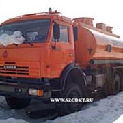 Автоцистерна АЦ-16 на шасси КамАЗ-65111 (6х6, 3 отсека, без насоса) фото