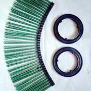 Диск щеточный беспроставочный 120 х 550 мм в разобранном виде фото