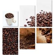 Модульная картина Кофе , Неизвестен фото