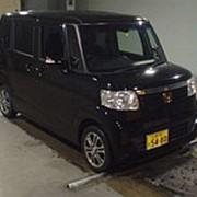 Микровэн HONDA N BOX кузов JF1 класса минивэн модификация G L Package SS Package гв 2014 пробег 42 т.км черный фото