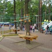 Веревочный парк, веревочный городок, канатный парк фото