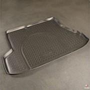 Коврик в багажник Kia Cerato 2007-2009 седан (полиуретановый с бортиком) фото