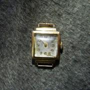 Часы антикварные золотые фото