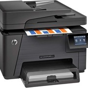 МФУ лазерное HP LaserJet Pro M177fw фото